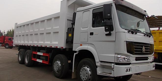 HOWO Tipper Truck Basic Configuration(8 x 4, Euro II, Lengthen)