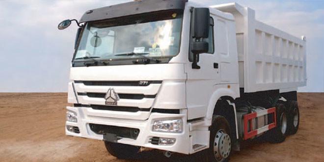 HOWO Tipper Truck Basic Configuration (6 x 4, Euro II, Lengthen)