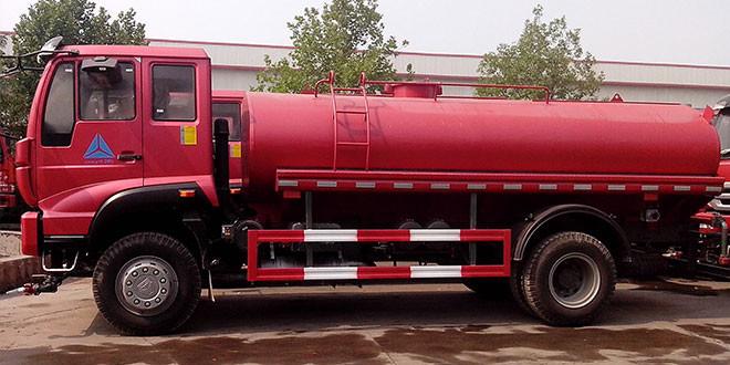 HOWO 8×4 Water Truck